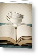 Tea For Two Greeting Card by Amy Weiss