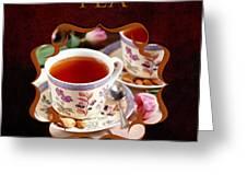 Tea Gallery Greeting Card