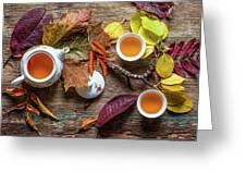 Tea Of September Greeting Card