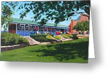 Tea Rooms At The Peoples Park Greeting Card
