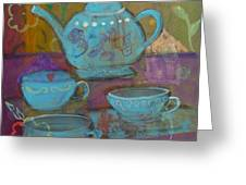 Tea Spot Greeting Card