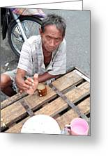 Tea Then Rum Greeting Card