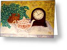 Tea Time Greeting Card