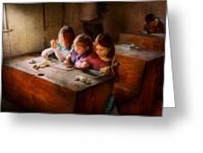 Teacher - Classroom - Education Can Be Fun  Greeting Card