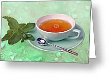 Teacup Greeting Card