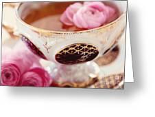 Teacupful Greeting Card