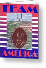 Team America Greeting Card