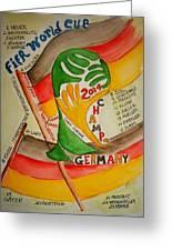 Team Germany Fifa Champions Greeting Card