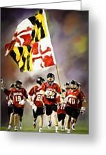 Team Maryland  Greeting Card
