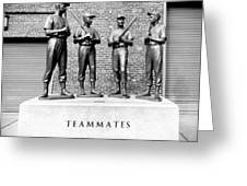 Teammates Greeting Card
