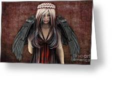 Tearfulness Greeting Card