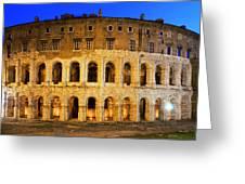 Teatro Di Marcello Greeting Card
