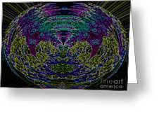 Tech Globe Greeting Card