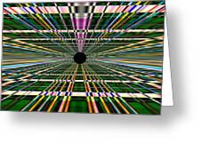 Technological Black Hole Greeting Card
