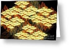 Tectonics Greeting Card