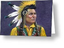 Tecumseh Greeting Card
