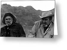 Ted Degrazia And Broderick Crawford Gallery In The Sun Tucson Arizona 3-1969-2009   Greeting Card