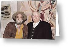 Ted Degrazia Cinematographer Lee Garmes Gallery In The Sun Tucson Arizona No Date-2013 Greeting Card
