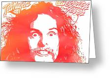 Ted Nugent Cat Scratch Fever Greeting Card