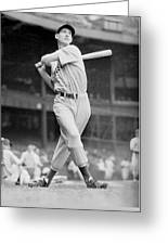 Ted Williams Swing Greeting Card