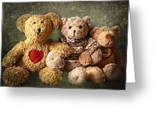 Teddies Greeting Card