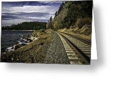 Teddy Bear Cove Railway Greeting Card