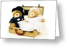 Teddy Bear Honeymoon Greeting Card