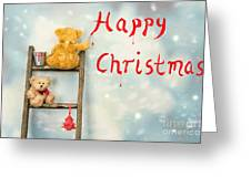Teddy Bears At Christmas Greeting Card