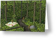 Teddy Bears' Picnic Greeting Card