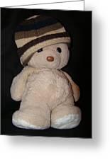 Teddy Wants To Hug You Greeting Card by Catherine Ali