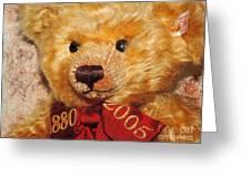 Teddy's Anniversary Greeting Card