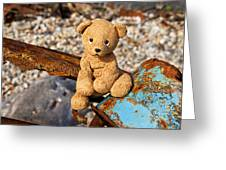 Ted's On The Rust Pile Greeting Card