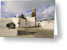 Teguise On Lanzarote Greeting Card