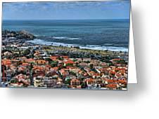 Tel Aviv Spring Time Greeting Card
