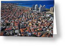 Tel Aviv - The First Neighboorhoods Greeting Card