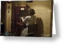 Telephone Operator Greeting Card