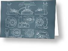 Telephone Patent Greeting Card