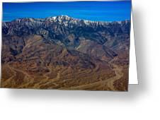 Telescope Peak Greeting Card