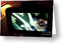 Television And Light  Greeting Card