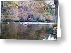 Tellico River In Fall Greeting Card