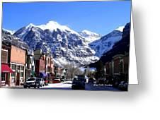 Telluride Colorado Greeting Card