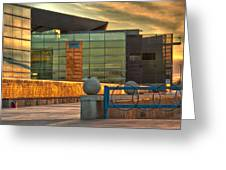 Tempe Center For The Arts Sunset Greeting Card