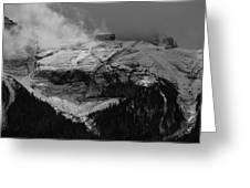 Tempest On Teapot Mountain Greeting Card