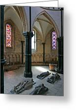 Templar Knights Temple Church London Greeting Card