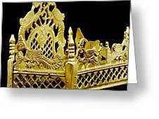 Temple Art - Brass Handicraft Greeting Card
