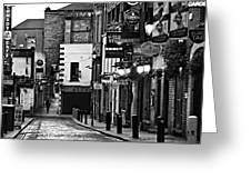 Temple Bar / Dublin Greeting Card