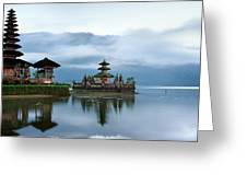 Pura Ulun Danu Bratan Greeting Card