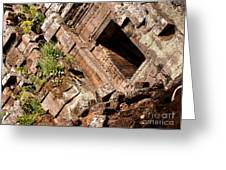 Temple Ruins 03 Greeting Card