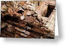Temple Ruins 04 Greeting Card