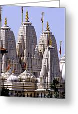Temple Towers Greeting Card